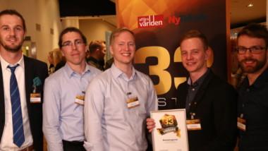 Airwatergreen är ett av Sveriges 33 hetaste teknikbolag