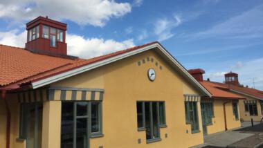 Byggnationen av Stene skola i Kumla – klassisk i form och design men modern inuti