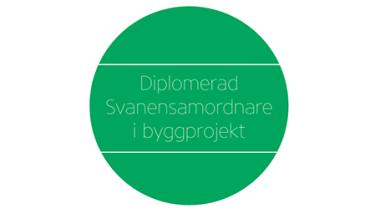 Bengt Dahlgren får diplomerade Svanensamordnare