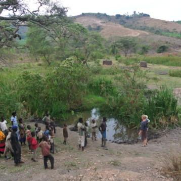 Bengt Dahlgren arbetar för hållbar vattenförsörjning