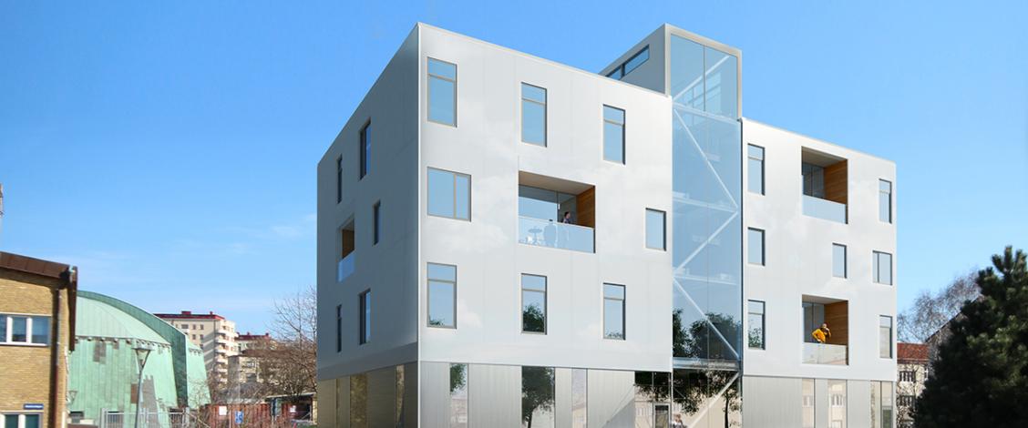 HSB Living Lab nominerat till Årets bygge