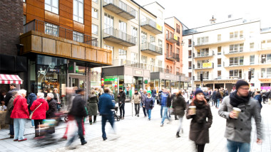 Social arkitektur i Signalfabriken, kv Plåten i Sundbyberg