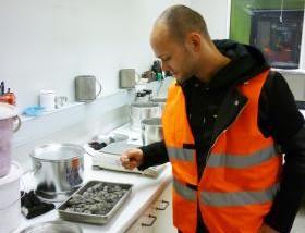 Utsikt Degerhamn: Klimatanpassad cement provtillverkas