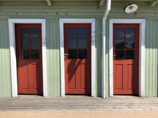 Accoya® hållbart trämaterial till nya hyttdörrar på Kallis i Malmö