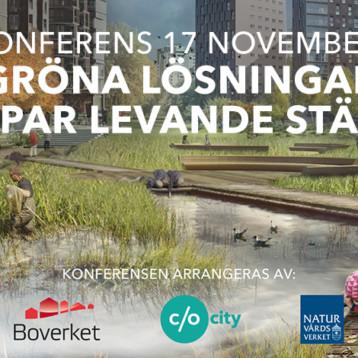 """Konferens """"Gröna lösningar skapar hållbara städer"""""""