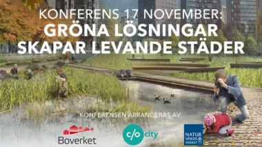 Konferens om verktyg för urbana ekosystemtjänster