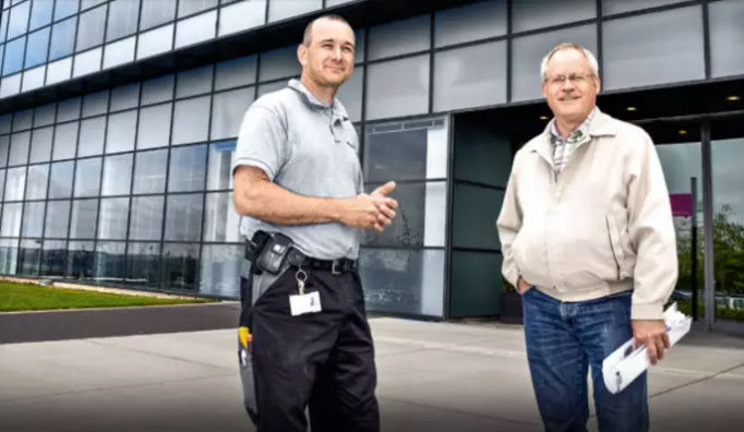 Stora energibesparingar när EC-fläktar ersatte AC-fläktar i serverrummet hos dansk koncern