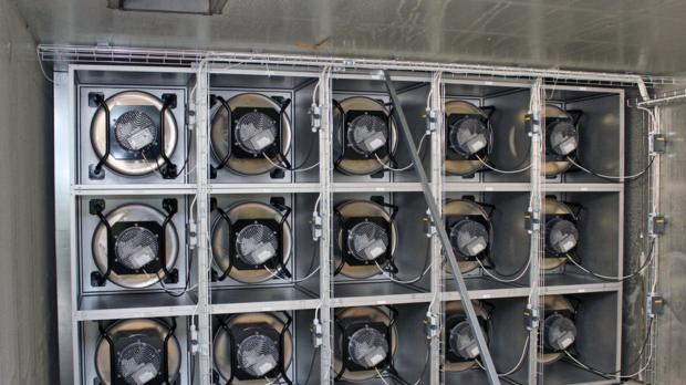 Kostnads- och energieffektiv fläktvägg från ebmpapst