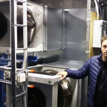 Sveriges bästa landsting på energibesparingar reducerar energikostnader vid vårdcentral genom byte till EC-fläktar