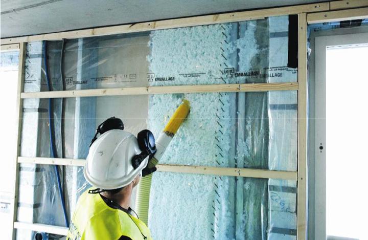 Energieffektiva och klimatsmarta lösningar med lösullsisolering