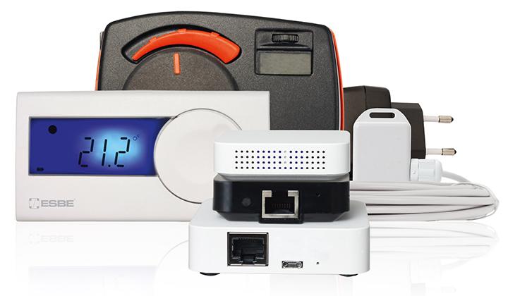 ESBE Comfort Control - intelligent värmereglering