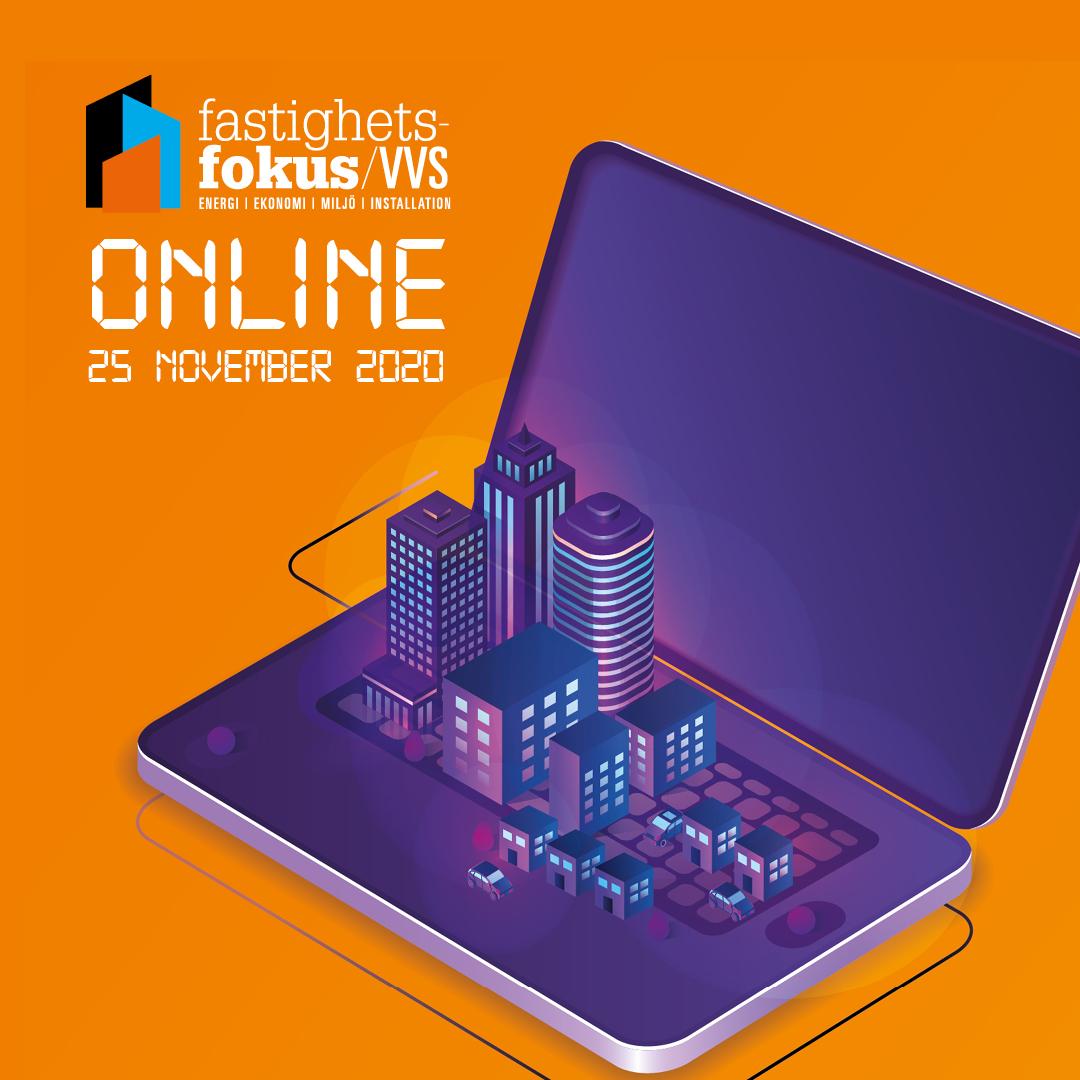 Träffa ESBE digitalt på Fastighetsfokus VVS den 25 november