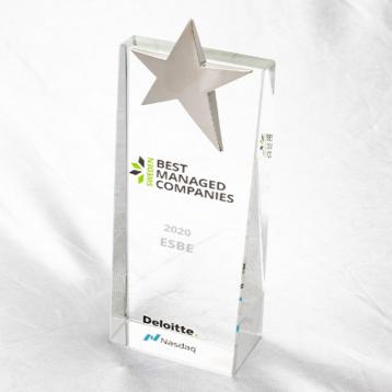 ESBE är ett av Sweden's Best Managed Companies 2020