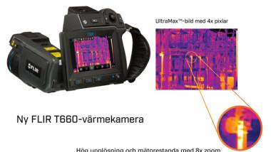 FLIR Systems lanserar nya T-serien med UltraMax™-upplösning