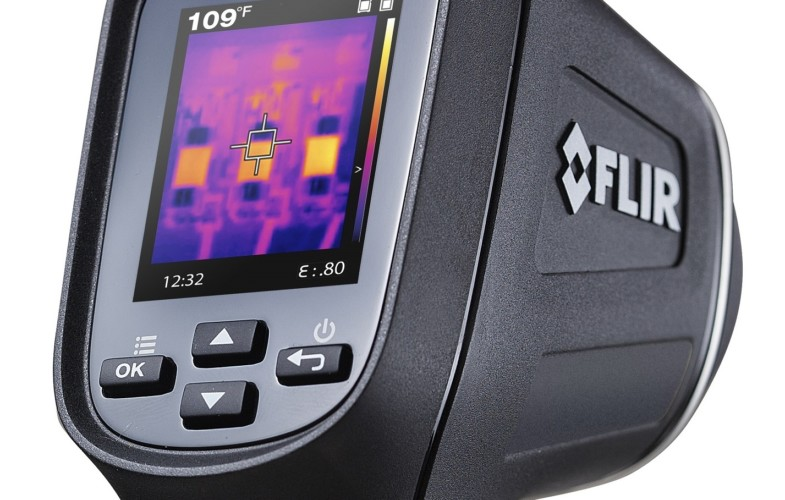 New FLIR TG167 spot thermal camera is optimized for targets in a narrow field of view