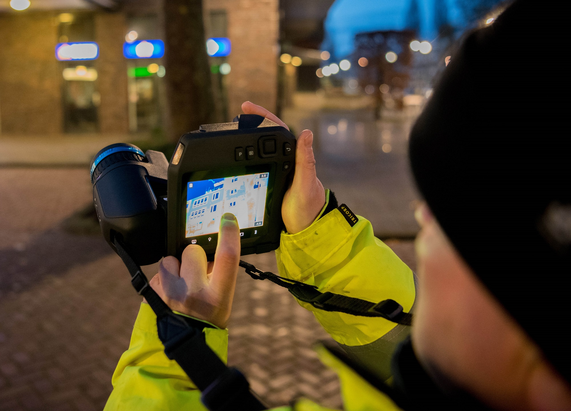 Investment in the latest FLIR infrared technology driven by a big growth in demand