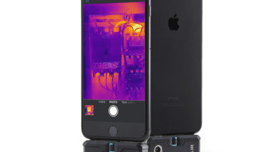 FLIR ONE Pro LT low-cost thermal imaging camera for smartphones & tablets