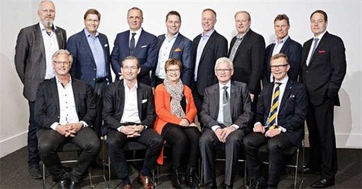 Sveriges Byggindustriers Förbundsstyrelse 2015. Foto: Rosie Alm