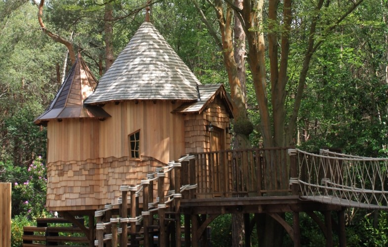 Kebony used to create perfect treehouse escape