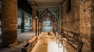Molofunctional prototypes made of Kebony at Venice Biennale