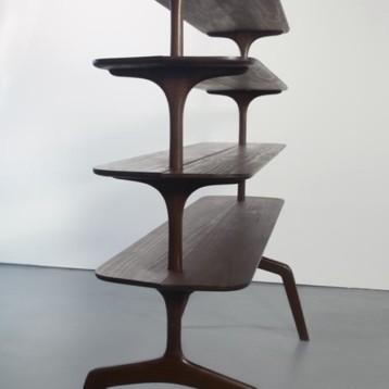 Edward Collinson Design crafts freestanding masterpiece from Kebony wood