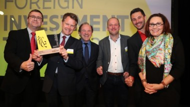 Kebony wins prestigious Foreign Investment Trophy