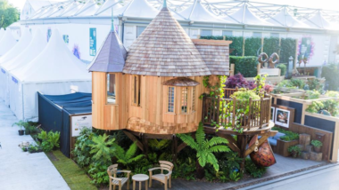 Blue Forest Create Tree-mendous Tree House at The RHS Chelsea Flower Show 2017