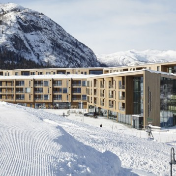 Norway's top ski resort embraces innovative Kebony-cladding