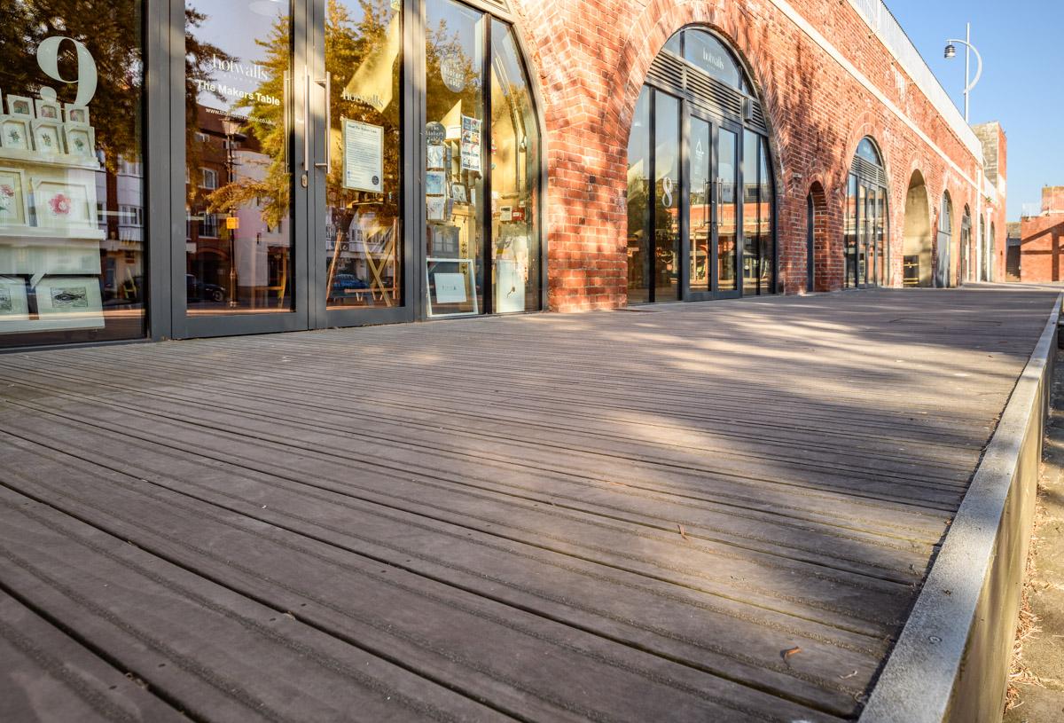 Portsmouth's creative quarter thrives with Kebony renovation