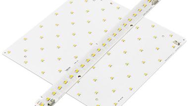 LED-modulerna QLE och LLE med en hög färgåtergivning Ra > 90