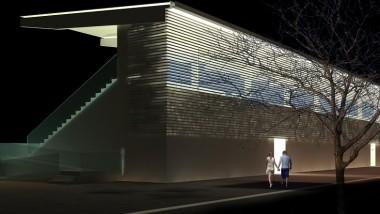 Stort intresse för läktare i limträ – Martinsons bygger i Ljungby