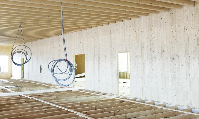 Martinsons tåliga vägg i KL-trä tar klivet in på marknaden