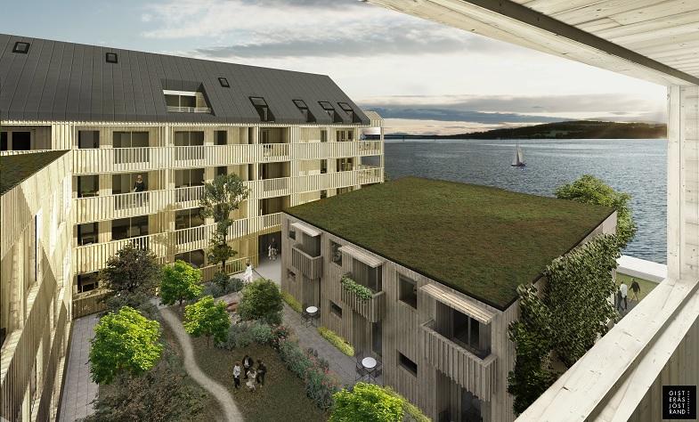 Spaden i jorden för Martinsons och Persson Invest i Östersund