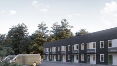 Martinsons lanserar industrihotell på Fastighetsmässan