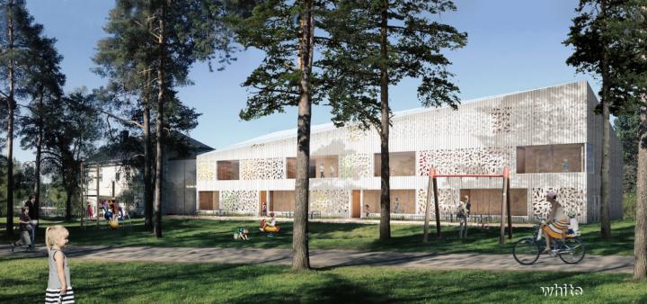 Hjältarnas Hus - White Arkitekter