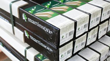 Martinsons limträleveranser slår rekord