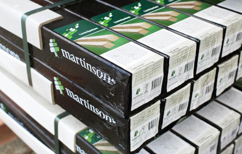 Martinsons limträförsäljning slår rekord