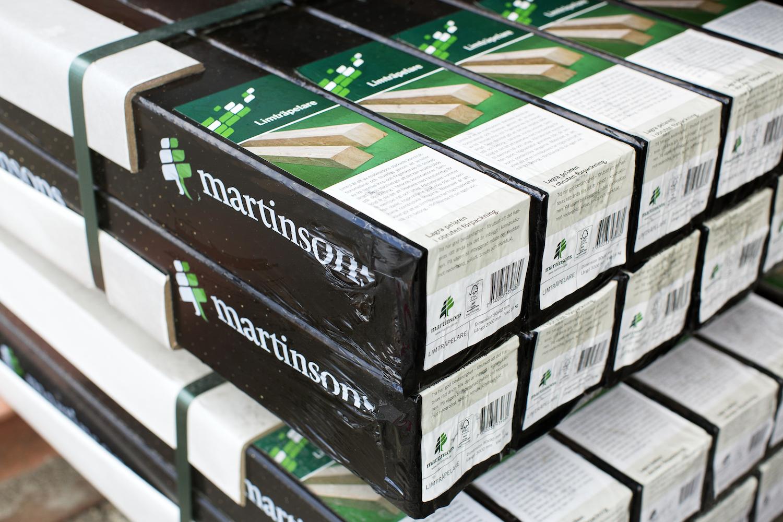 Beijer Byggmaterial utser Martinsons till årets leverantör