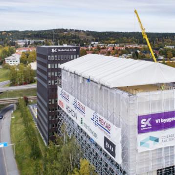 Hållbar påbyggnad till kraftbolag