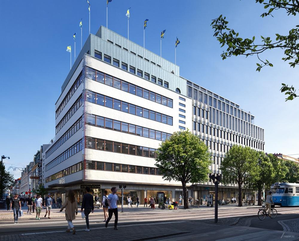 Martinsons levererar påbyggnad till centrala Göteborg