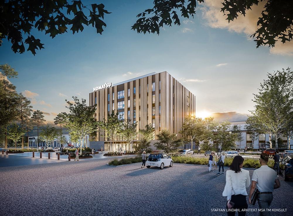 Komatsu Forest väljer Martinsons till unika fabrikssatsningen