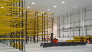 Fisher Clinicals höglager har ny effektiv miljöbelysning