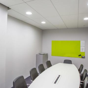 Smart LED i Electrolux nya konferensrum