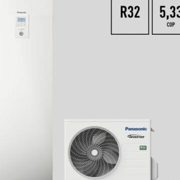 Panasonic lanserar Aquarea J-Generation med R32 – den effektivaste komforten hittills