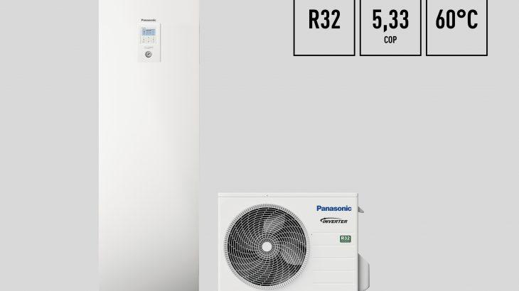 Panasonic lanserar Aquarea J-Generation med R32 - den effektivaste komforten hittills