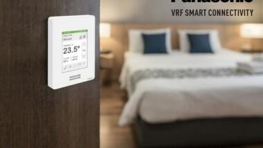 Panasonic VRF Smart Connectivity – en revolutionerande nyhet för hotell och detaljhandeln