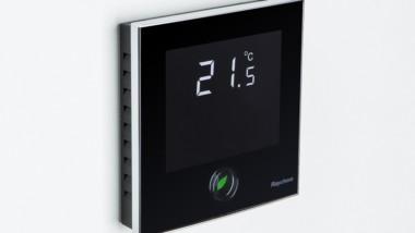 Golvvärme-nyhet: Design-termostat med rörelseaktivering