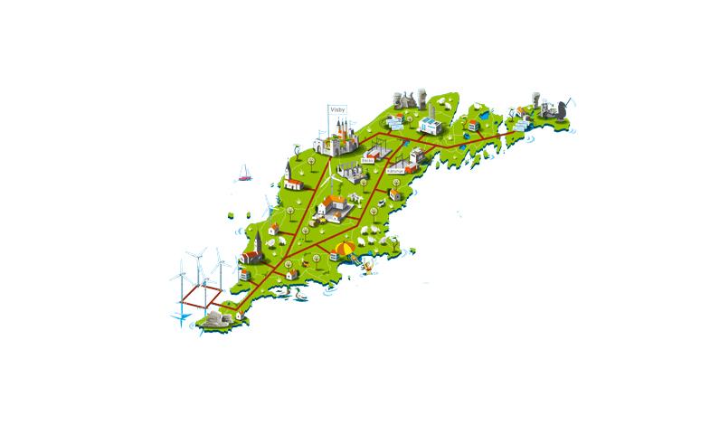 Nu har Gotland ett av världens smartaste elnät