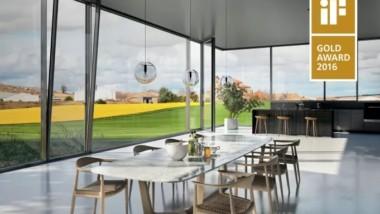 Schüco introducerar FWS 60 CV – ett unikt fönsterband belönat med internationellt designpris