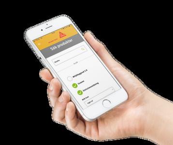 Sika MiljöApp – enkelt att välja rätt miljöbedömd produkt